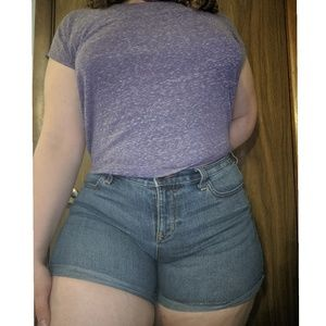 Old Navy Shorts - Old Navy semi-fitted regular stretchy denim shorts